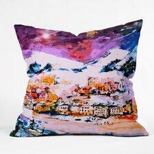 Ginette Fine Art Winter Star Throw Pillow
