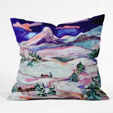 Ginette Fine Art Winter Wonderland Throw Pillow