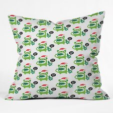 Andi Bird Help Me Holiday Throw Pillow