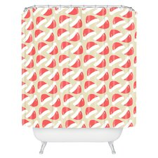 Allyson Johnson Santa Hats Shower Curtain