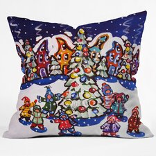 Renie Britenbucher Oh Christmas Tree Throw Pillow