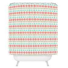 Allyson Johnson Holiday Style Shower Curtain