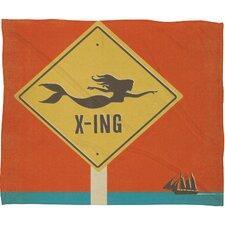 Anderson Design Group Mermaid X-ing Throw Blanket