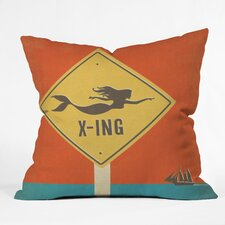 Anderson Design Group Mermaid X-ing Indoor/Outdoor Throw Pillow