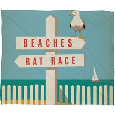 Anderson Design Group Sign Post Throw Blanket