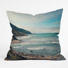 Catherine Mcdonald California Pacific Coast Highway Indoor/Outdoor Throw Pillow