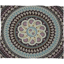 Belle13 Mandala Paisley Throw Blanket