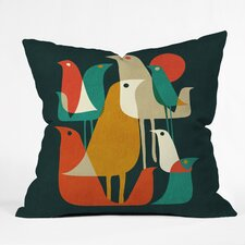 Budi Kwan Flock Of Bird Throw Pillow