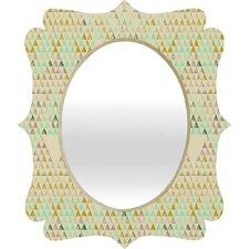 Pattern State Triangle Lake Wall Mirror