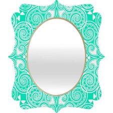 Budi Kwan Decographic Quatrefoil Mirror