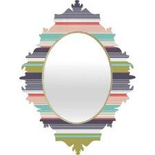 Wendy Kendall Multi Stripe Wall Mirror