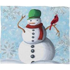 Madart Inc. Winter Cheer Plush Fleece Throw Blanket
