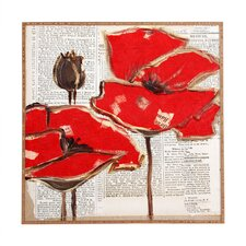 Perfection by Irena Orlov Framed Wall Art in Red