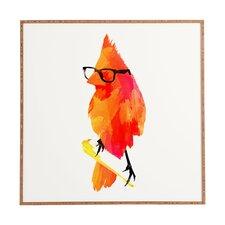 Punk Bird by Robert Farkas Framed Wall Art