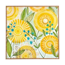 Sun Burst Flowers by Cori Dantini Framed Graphic Art
