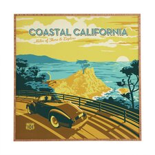 Coastal California by Anderson Design Group Framed Wall Art