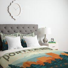 Anderson Design Group Lightweight Portland Duvet Cover
