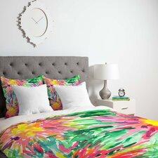 Joy Laforme Floral Confetti Duvet Cover