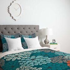 Khristian A Howell Lightweight Greenwich Gardens Duvet Cover