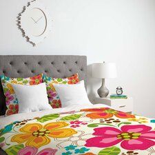 Khristian A Howell Lightweight Kaui Blooms Duvet Cover