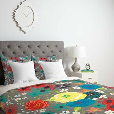 Vy La Bloomimg Love Duvet Cover