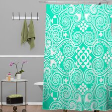 Budi Kwan Decographic Shower Curtain