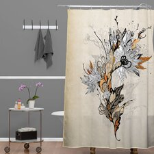 Iveta Abolina Floral 1 Shower Curtain