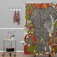 Valentina Ramos Bo The Elephant Shower Curtain