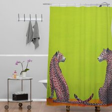 Clara Nilles Leopard Lovers Shower Curtain