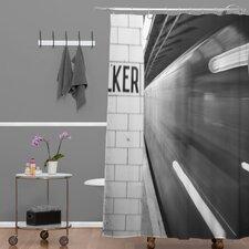 Leonidas Oxby Subway Shower Curtain