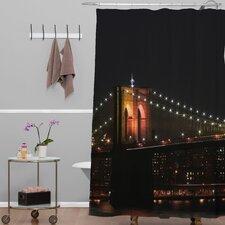 Leonidas Oxby Brooklyn Bridge 2 Shower Curtain