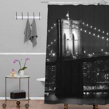 Leonidas Oxby Brooklyn Bridge 125 Shower Curtain