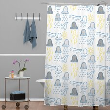 Jennifer Denty Clouds Shower Curtain