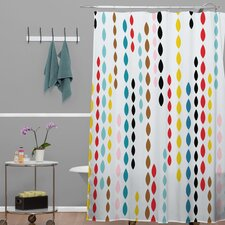 Khristian A Howell Nolita Drops Shower Curtain