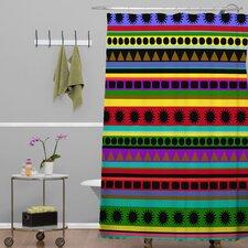 Romi Vega Heavy Pattern Shower Curtain