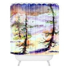 Ginette Fine Art Winter Trees Shower Curtain