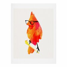 """Punk Bird"" by Robert Farkas Graphic Art"