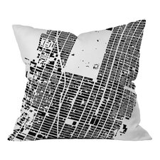 CityFabric Inc. NYC Midtown Throw Pillow