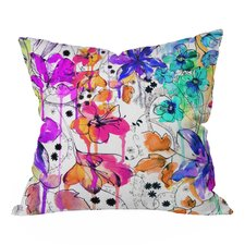 Holly Sharpe Lost in Botanica Throw Pillow