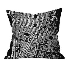 CityFabric Inc. NYC Throw Pillow