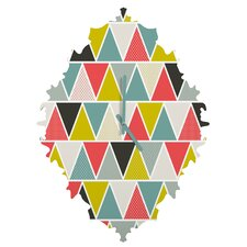 Heather Dutton Triangulum Wall Clock