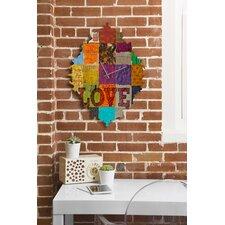 Elizabeth St Hilaire Nelson Love Wall Clock