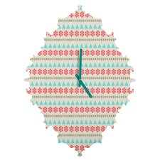 Allyson Johnson Holiday Style Wall Clock