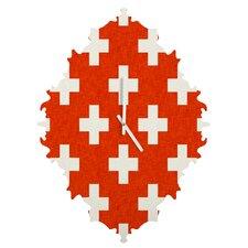 Holli Zollinger Vermillion Plus Wall Clock