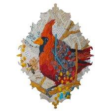 Elizabeth St Hilaire Nelson Cardinal Wall Clock