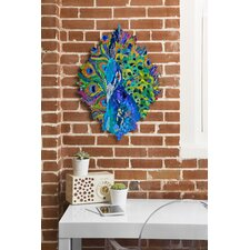 Elizabeth St Hilaire Nelson Cacophony of Color Wall Clock