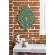 Bianca Green Oh Deer 3 Wall Clock