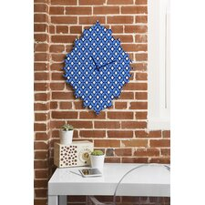 Caroline Okun Blueberry Wall Clock