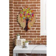 Elizabeth St Hilaire Nelson Summer Tree Wall Clock