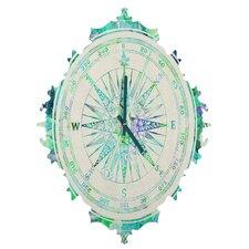Bianca Green Follow Your Own Path Wall Clock